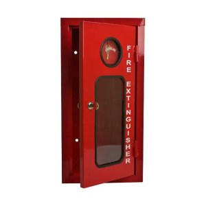 Fire Extinguisher Cabinet 6 KG Metal Break Glass