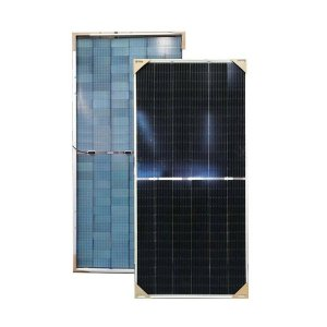 This is a picture of the Solar Panel 460W Jinko BIFACIAL provided in Lebanon by Smart Security