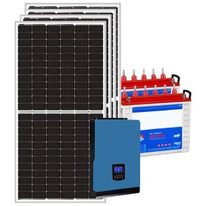 This is a picture of the Solar Energy System Kit 8 AMPS sold in Lebanon by Smart Security