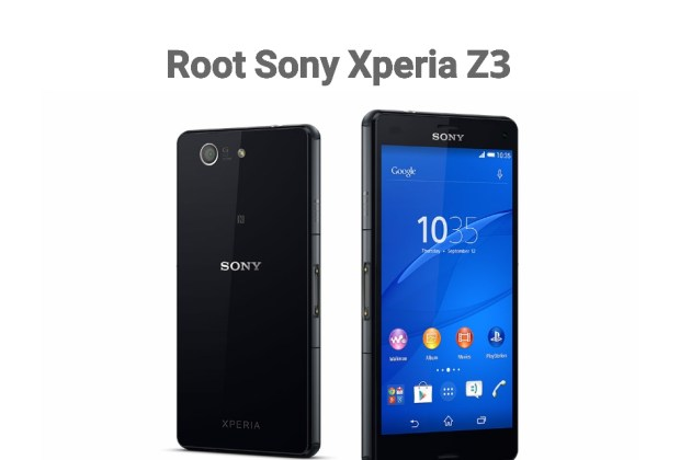 Root Sony Xperia Z3