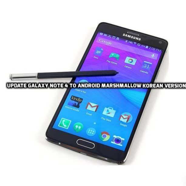 Update Galaxy Note 4 to Android Marshmallow
