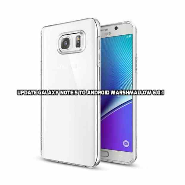 Update Galaxy Note 5 to Android Marshmallow