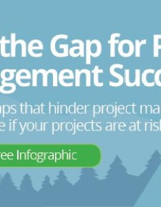 Get the mind gap for project management infographic image also how to create  waterfall chart in excel and powerpoint rh smartsheet