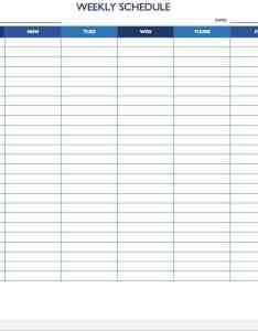 Sun sat weekly work schedule template also free templates for word and excel rh smartsheet