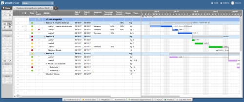 small resolution of gantt chart project smartsheet it