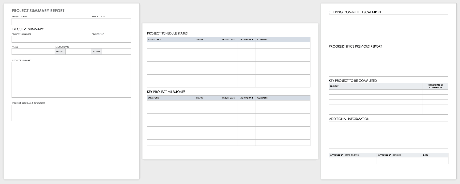Quickly create & submit daily. Free Project Report Templates Smartsheet