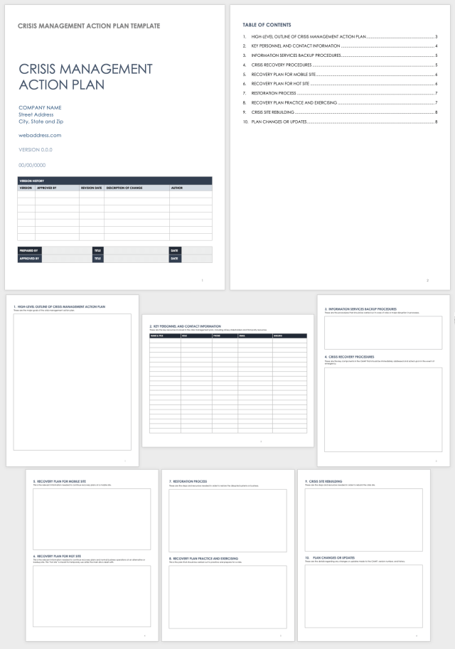 Step-by-Step Guide to Writing a Crisis Management Plan  Smartsheet