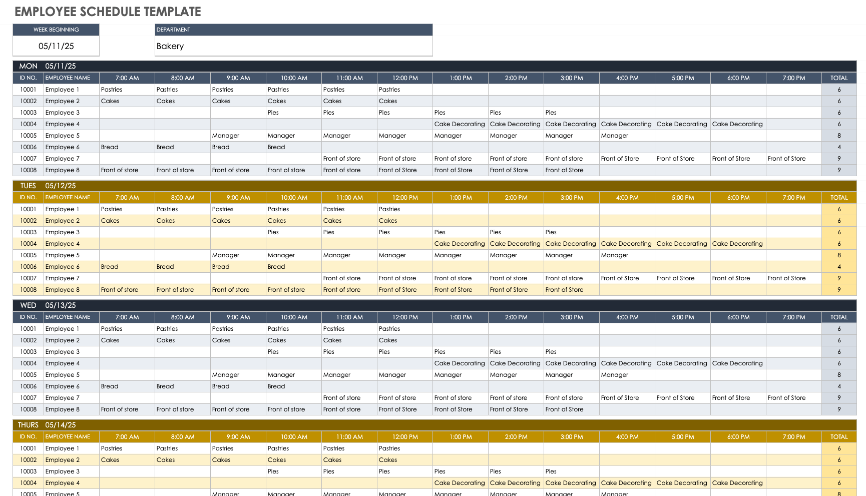 Competition drives a lot of how businesses function that understanding your position, expenditures, concentrate and products. Free Google Sheets Scheduling Templates Smartsheet