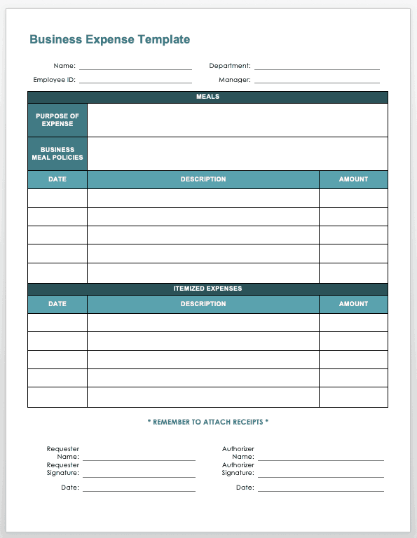 27/08/2017· printable expense report template excel. Free Expense Report Templates Smartsheet