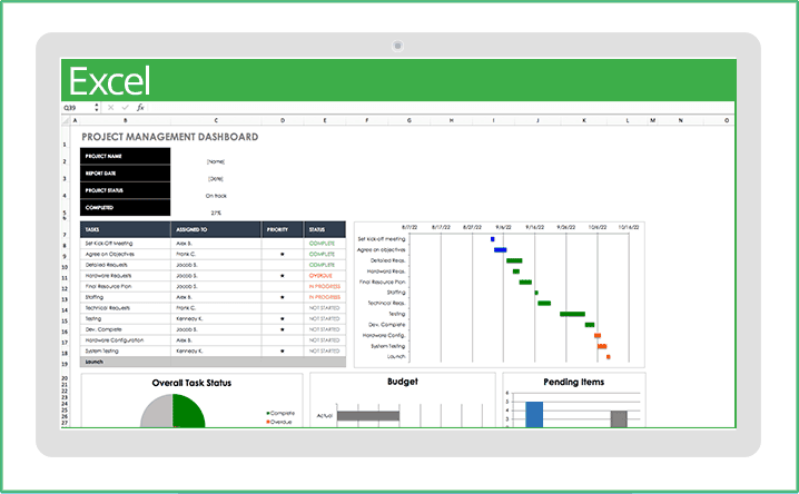 Build a budgeting habit now so you're financially ready when opportunities present themselves. Free Excel Project Management Templates Smartsheet