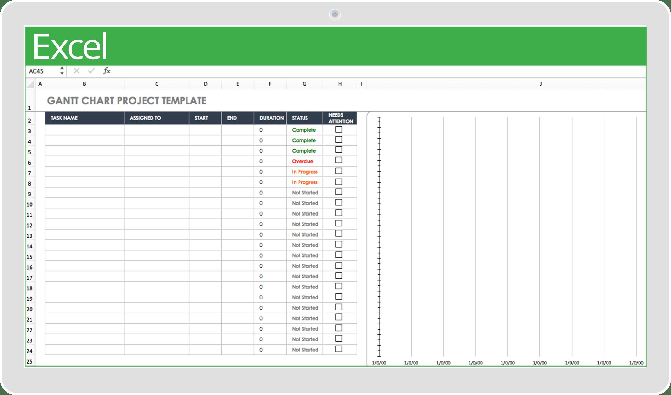 32 Free Excel Spreadsheet Templates