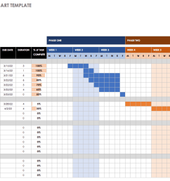 wbs with gantt chart template [ 1661 x 762 Pixel ]