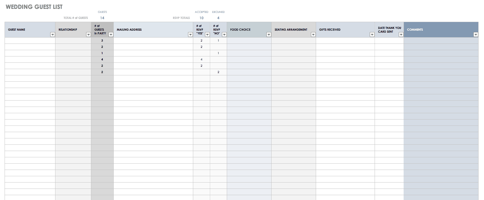 A business plan is essential to a small business's strategy. Free Contact List Templates Smartsheet