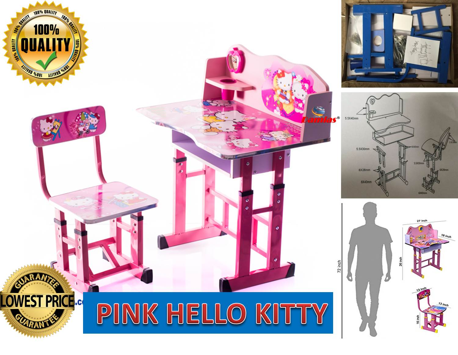 hello kitty high chair flip out sleeper study table and kid set with c end 3 4 2021 12 00 am