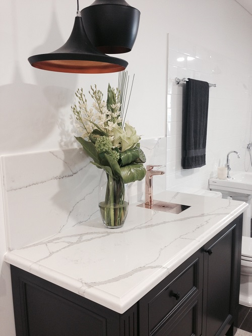Quartz Bathroom Vanity Top