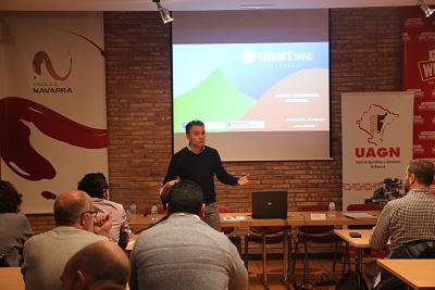 Iñaki Mendióroz , coordinador proyecto Smart Sustainable Wine