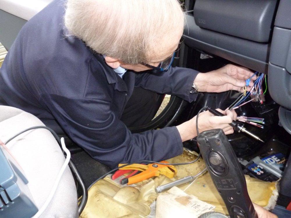medium resolution of repair to smart roadster headlight wiring