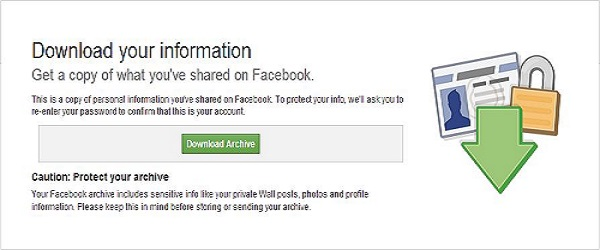 Retrieve Deleted Messages,photos and videos on facebook