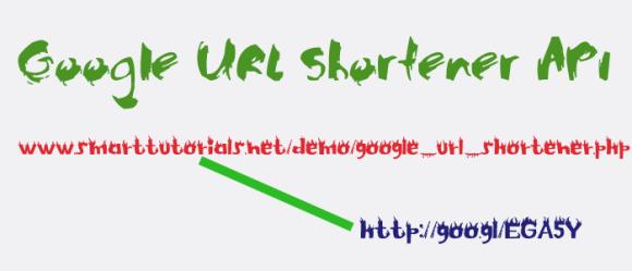 Google-URL-shortener-api-service-tutorial php script