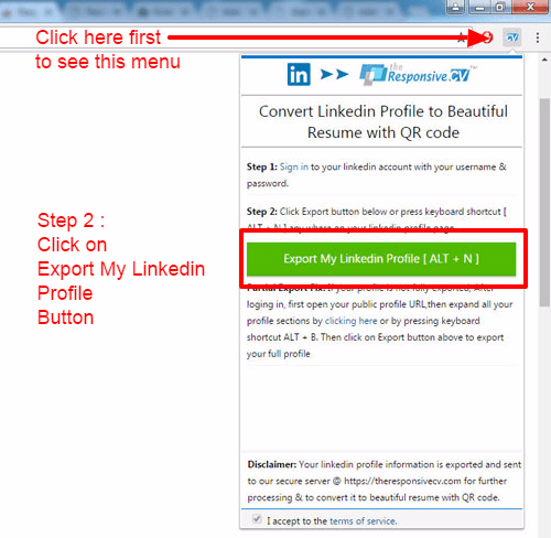 Make a resume from linkedIn linkedin resume builder