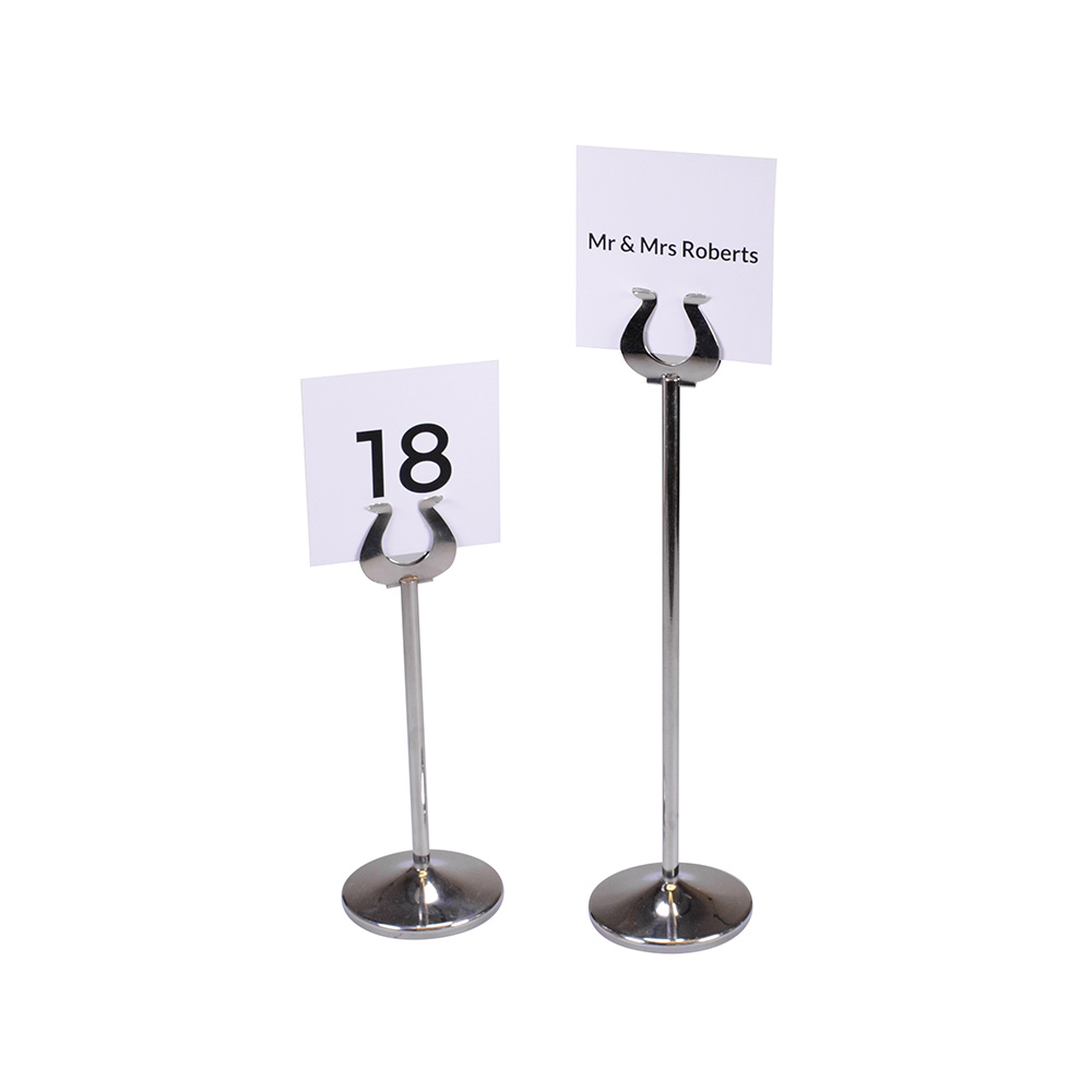 Steel Table Number Holders