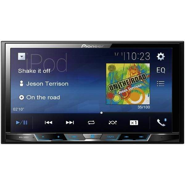 7 Double-DIN In-Dash Digital Media & A-V Receiver with Bluetooth(R) - Automotive Receivers