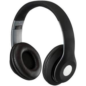 Bluetooth(R) Over-the-Ear Headphones with Microphone (Matte Black) - Personal Electronics