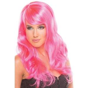 BW095HP Burlesque Wig Hot Pink - Hot Pink / Female / O/S - Wigs