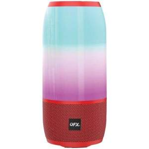 Portable Rechargeable Bluetooth(R) Speaker (Red) - Speakers