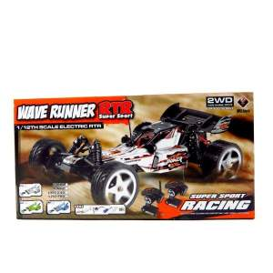 WL202 2.4G 1:12 Brushless RC Racing Car (Blue) - RC Cars