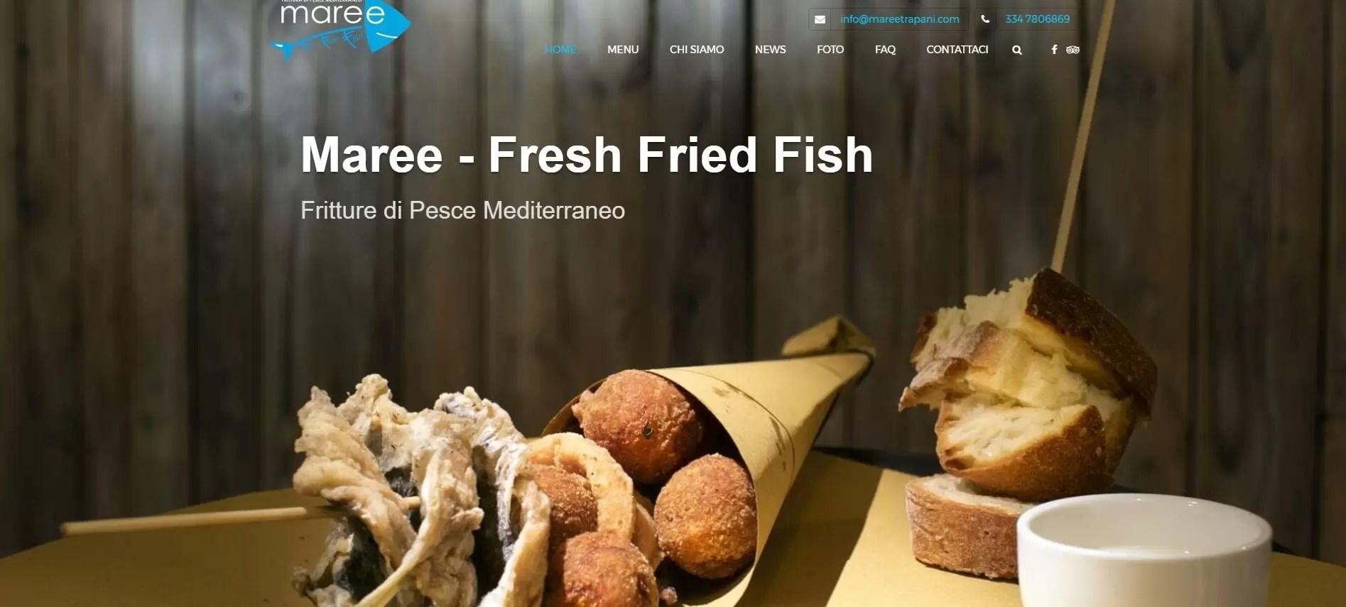 Maree Fritture di Pesce Mediterraneo
