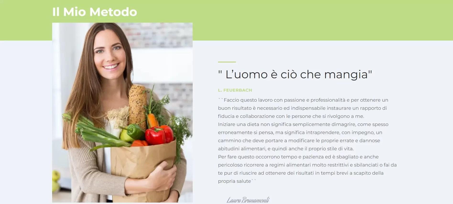 Dott.ssa Brunamonti Nutrizionista Trapani