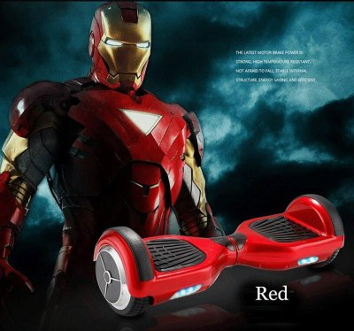 Smart Wheels Heroe Rojo