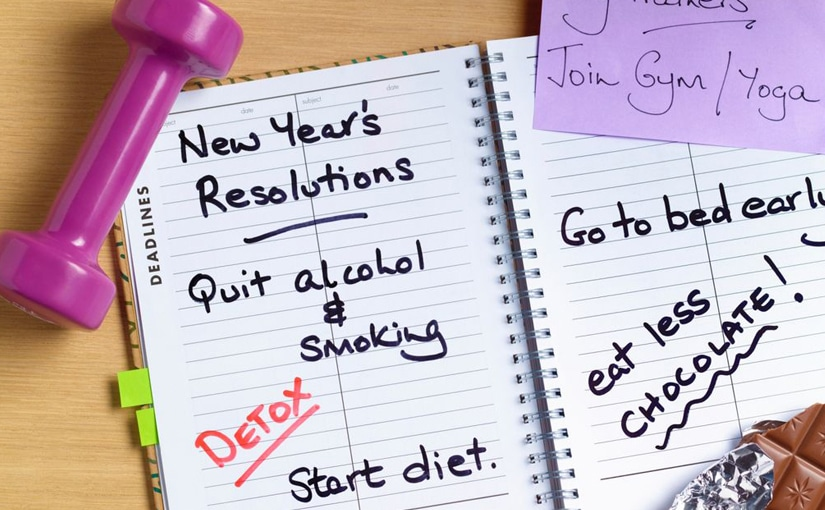 New year's resolutions and how to accomplish them