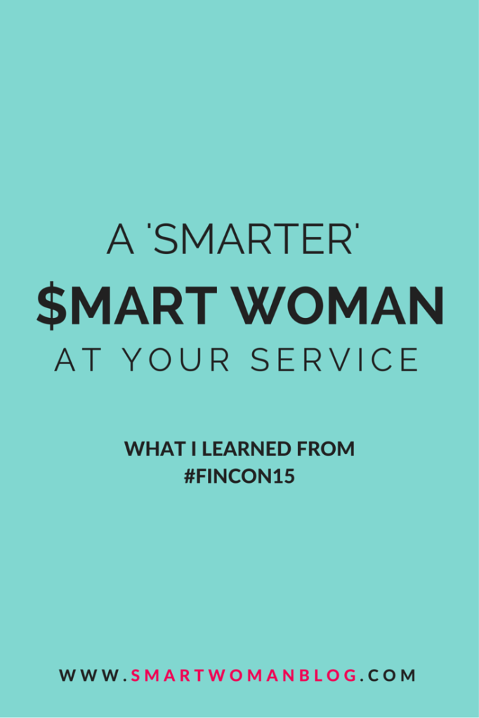 A (Smarter) Smart Woman At Your Service - I won a scholarship to attend Fincon in Charlotte, North Carolina. Here are the things I took away from this conference for money nerds as a first-time attendee! // Smart Woman