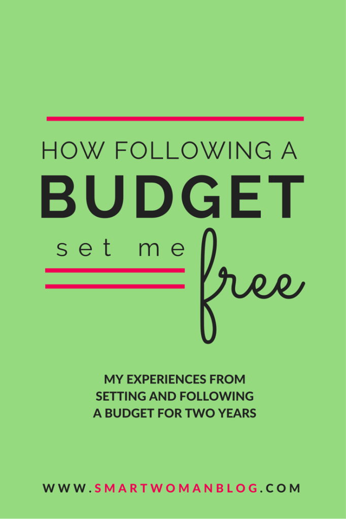 How Following a Budget Set Me Free