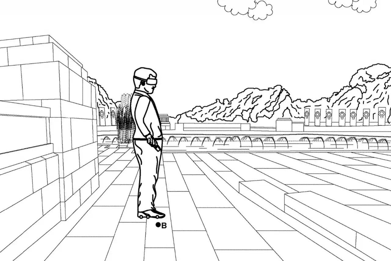 Camminare mentre giocate in VR? Google vuole farvelo fare