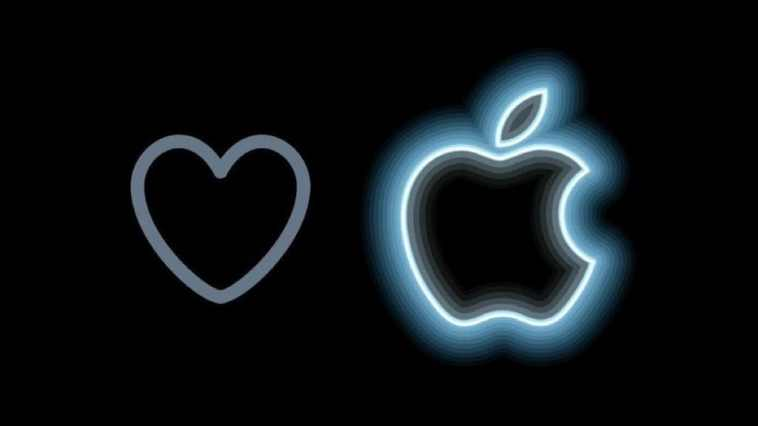 Il cuoricino di Twitter si trasforma nella mela di Apple per celebrare l'evento di stasera