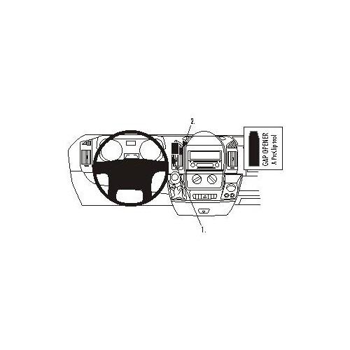 Brodit ProClip montážní konzole pro Citroen Jumper 07