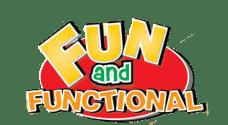 fun & functional logo
