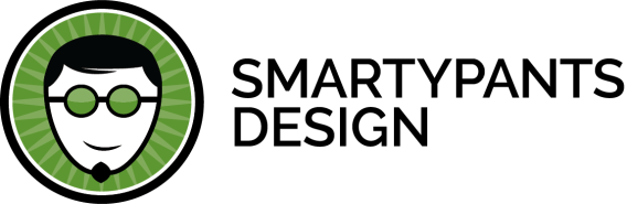 SmartyPants Design Logo - Right
