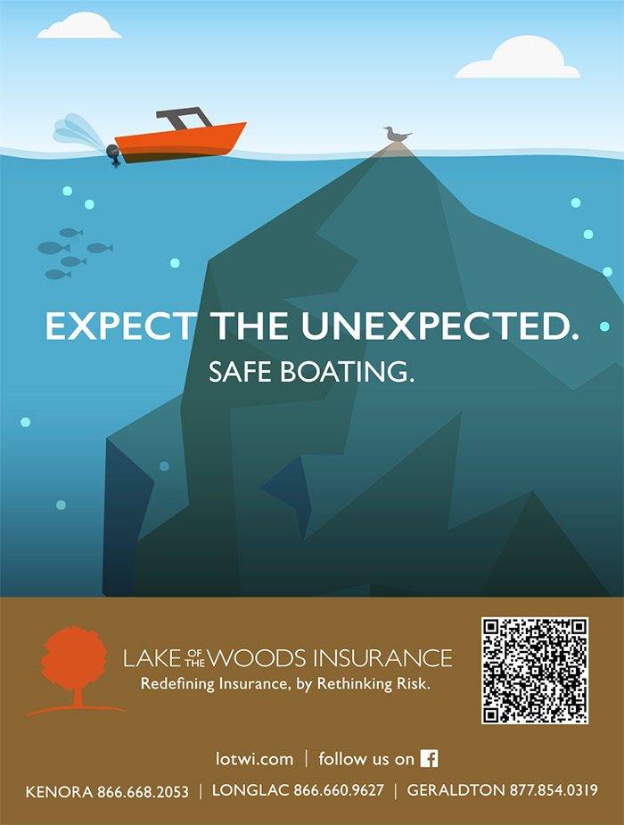 Lake of the Woods Insurance Magazine Ad