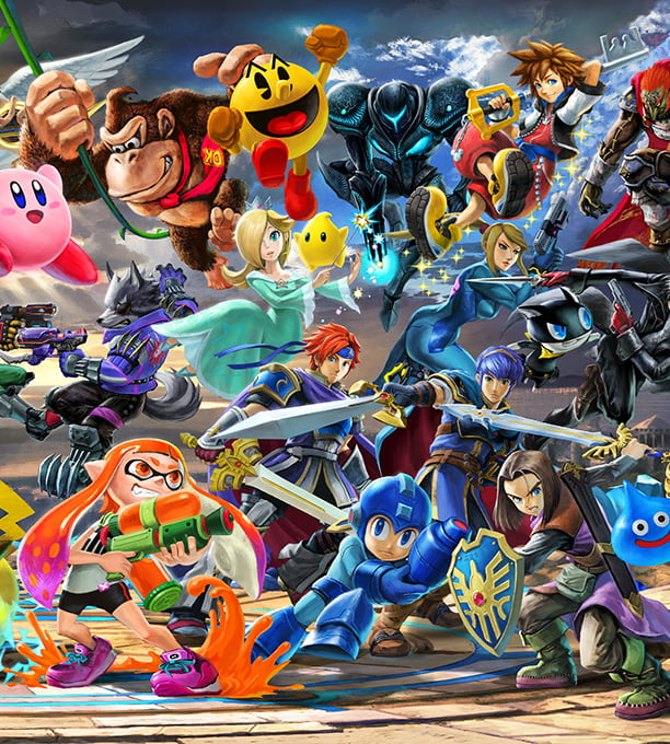 Super Smash Bros Ultimate For The Nintendo Switch System Official Site