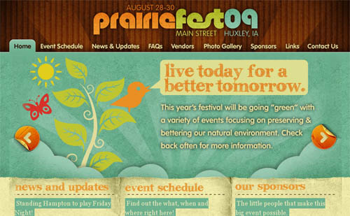 Huxley Prairie Festival