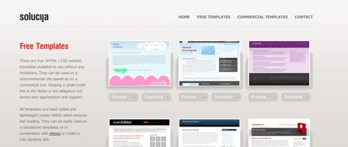 35 Excellent Websites for Downloading Free CSS Template
