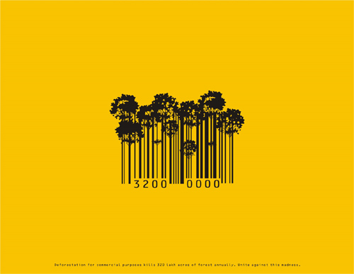 Deforestation awareness: Trees