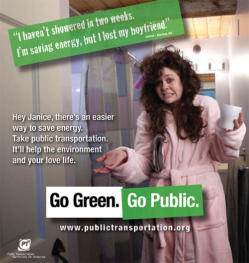 Go Green Go Public PSA Campaign
