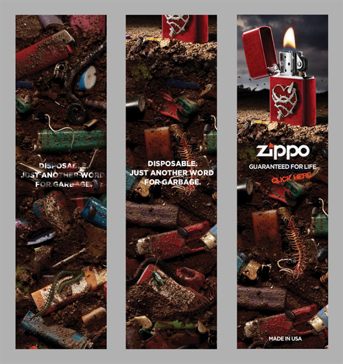Zippo Manufacturing: Banner
