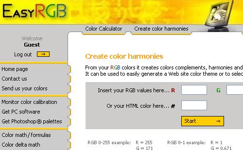 Online Color Tools