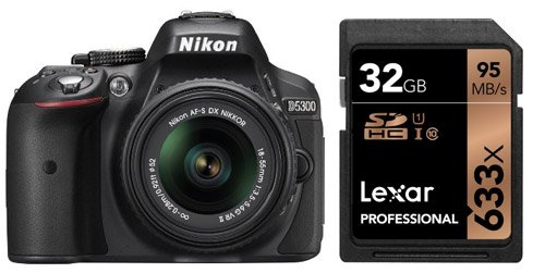 SDHC 2 Pack Nikon D7000 Digital Camera Memory Card 2 x 8GB Secure Digital High Capacity Memory Cards